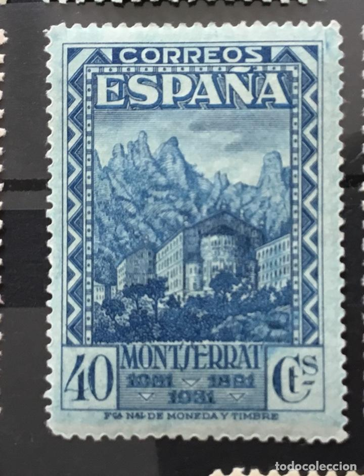 Sellos: España 1931 - IX centenario Fundación monasterio de Montserrat - Edifil 636/649** MNH. Certificado - Foto 13 - 152728870