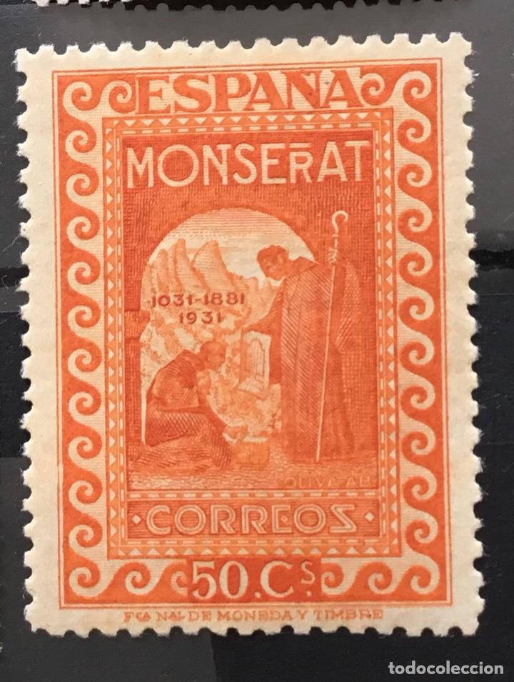 Sellos: España 1931 - IX centenario Fundación monasterio de Montserrat - Edifil 636/649** MNH. Certificado - Foto 14 - 152728870