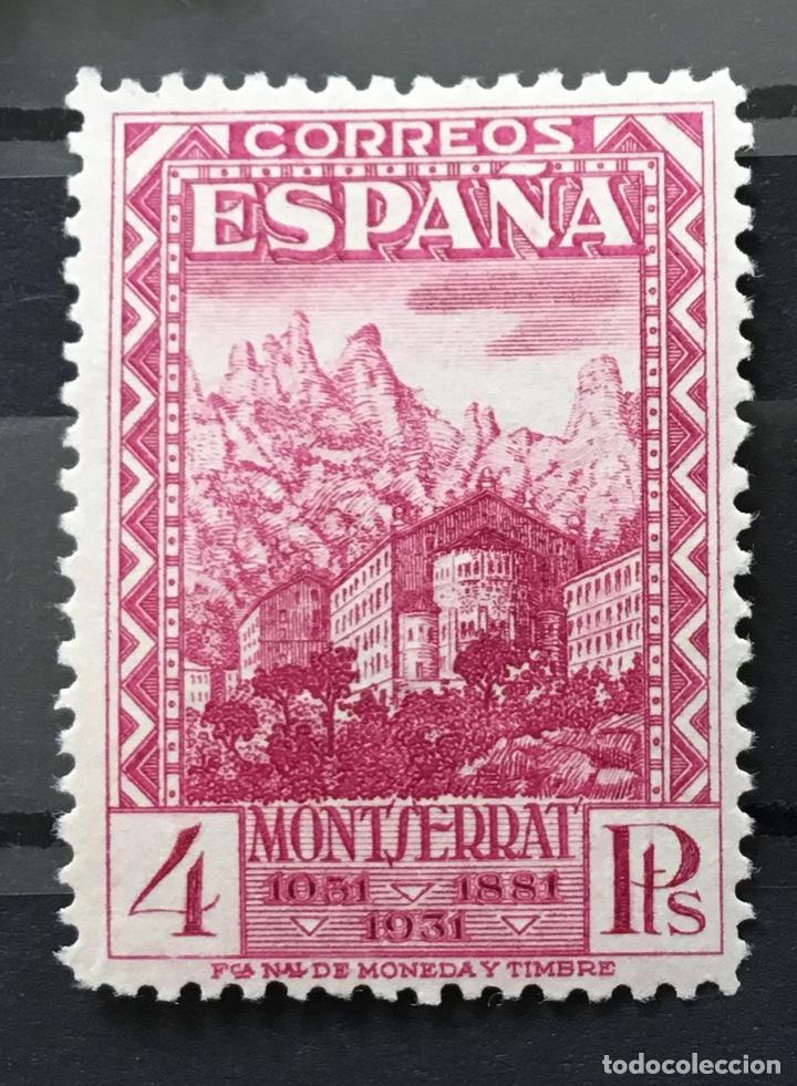 Sellos: España 1931 - IX centenario Fundación monasterio de Montserrat - Edifil 636/649** MNH. Certificado - Foto 16 - 152728870