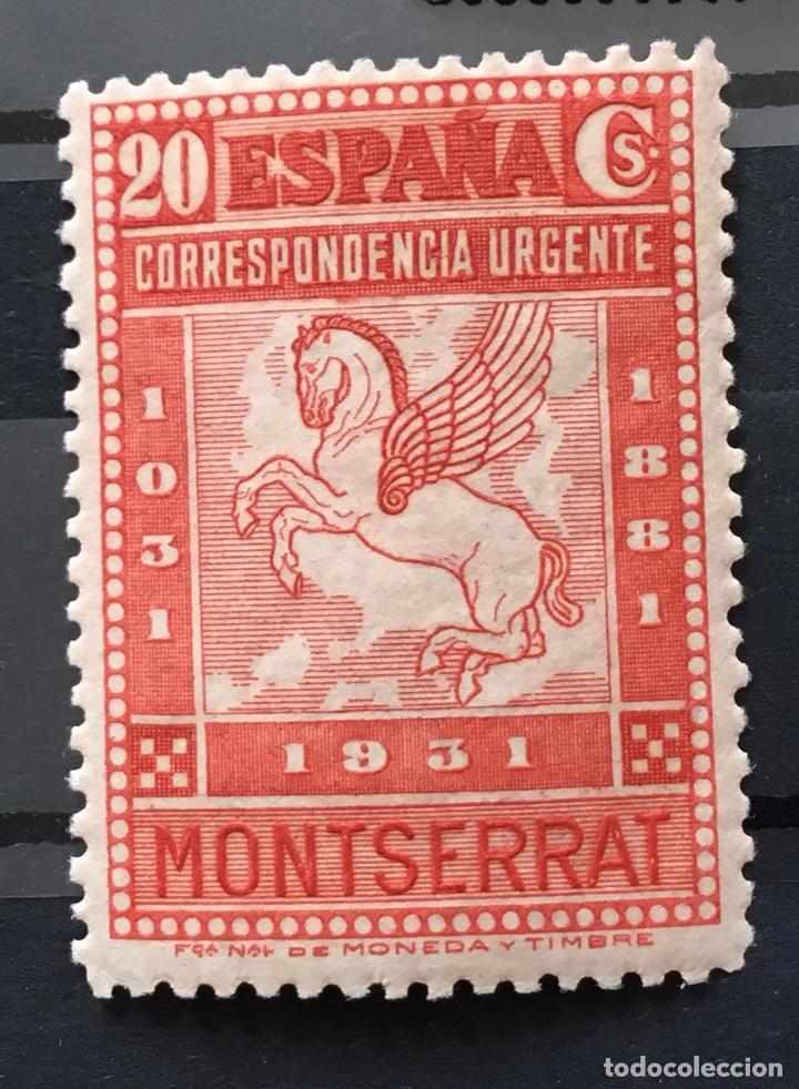 Sellos: España 1931 - IX centenario Fundación monasterio de Montserrat - Edifil 636/649** MNH. Certificado - Foto 18 - 152728870