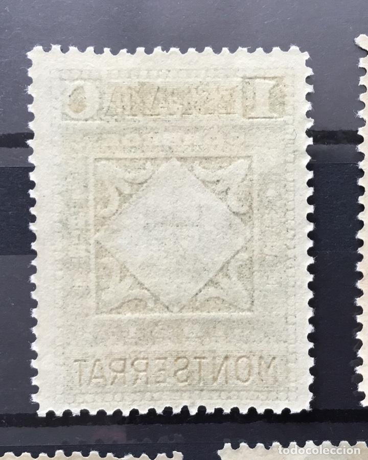 Sellos: España 1931 - IX centenario Fundación monasterio de Montserrat - Edifil 636/649** MNH. Certificado - Foto 20 - 152728870