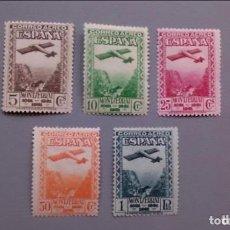 Sellos: ESPAÑA -1931 - EDIFIL 650/654 - SERIE COMPLETA - MH* - NUEVOS.. Lote 154019782