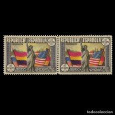 Sellos: SELLOS. ESPAÑA.1938. ANIVERSARIO CSTITUCIÓN EEUU. 1P. MULTICOLOR.BLOQUE 2. NUEVO** . EDIFIL. Nº763. Lote 155876978