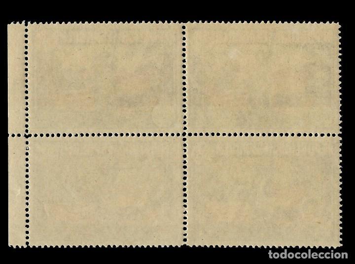 Sellos: II República.1938.Aniv. Const. EEUU.1p.Blq 4.MNH Edifil 763 - Foto 2 - 155877950