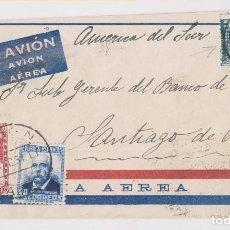 Sellos: RARO SOBRE CORREO AÉREO DE MADRID A CHILE. 1934. Lote 156555426