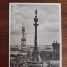 Sellos: TARJETA POSTAL COLON CIRCULADA 1935 DE BARCELONA A VIENA AUSTRIA. Lote 158122650