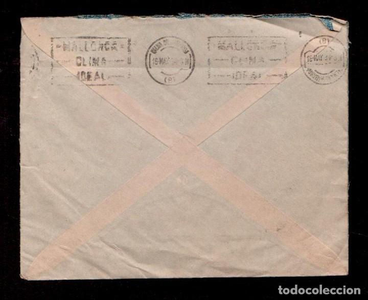 Sellos: C9-13 ESPAÑA Historia Postal Carta del Banco Urquijo Catalan circulada de MATARO A BARCELONA con Vi - Foto 2 - 159100646