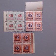 Sellos: ESPAÑA -1938-II REPUBLICA - EDIFIL 742/744 - SERIE COMPLETA - MNH** - NUEVOS - LUJO - VALOR CAT.225€. Lote 159516362