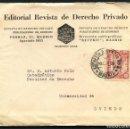 Sellos: REPÚBLICA ESPAÑOLA, CARTA PUBLICITARIA, CIRCULADA DESDE MADRID A OVIEDO, 1935. Lote 159907350