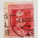 Sellos: SELLO III CENT. MUERTE LOPE DE VEGA 1935, NUM. 691. Lote 160482321