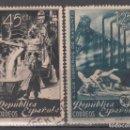 Sellos: ESPAÑA, 1938 EDIFIL Nº 773 / 774 . Lote 160571014