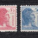 Sellos: 1938 EDIFIL 751/54** NUEVOS SIN CHARNELA. ALEGORIA. Lote 160656306