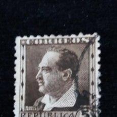 Sellos: SELLO REPUBLICA ESPAÑOLA, BLASCO IBAÑEZ, 25 CENTS, AÑO 1934. USADO. Lote 161701118