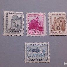 Sellos: ESPAÑA - 1938 - II REPUBLICA - EDIFIL 770/772 - SERIE COMPLETA - MNH** - NUEVOS - BIEN CENTRADOS.. Lote 162611162