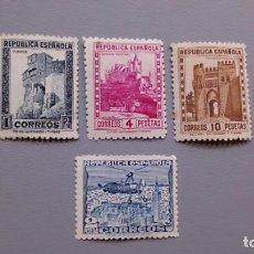 Sellos: ESPAÑA - 1938 - II REPUBLICA - EDIFIL 770/772 - SERIE COMPLETA - MH* - NUEVOS - BIEN CENTRADOS.. Lote 162612290