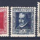 Sellos: EDIFIL 690-693 CENTENARIO MUERTE DE LOPE DE VEGA 1935 (SERIE COMPLETA).VALOR CATÁLOGO: 160 €. MNH **. Lote 163899514