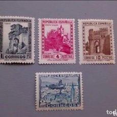 Sellos: ESPAÑA - 1938 - II REPUBLICA - EDIFIL 770/772 - SERIE COMPLETA - MNH** - NUEVOS - BIEN CENTRADOS. Lote 164557674