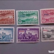 Sellos: ESPAÑA - 1931 - II REPUBLICA - EDIFIL 630/635 - SERIE COMPLETA - MH* - NUEVOS.. Lote 178686488