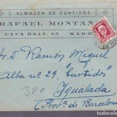 Sellos: F3-79- CARTA ALMACÉN CURTIDOS ESTAFETA SUCURSAL Nº 5. MADRID .1932. Lote 165847598