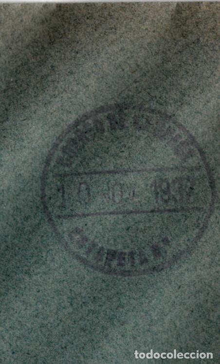 Sellos: GUERRA CIVIL CARTA CON MATASELLOS DE CORREO DE CAMPAÑA - TURIA - 10 NOV -37 - CON BISECTADOS - Foto 3 - 167008048