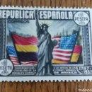 Sellos: ESPAÑA : N°763 MH, EE.UU. Lote 167837470