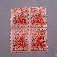 Sellos: ESPAÑA - 1938 - II REPUBLICA - EDIFIL 768 - BLOQUE DE 4 - MNH** - NUEVOS.. Lote 168095568