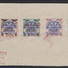 Sellos: 1937 GRAN CANARIAS - GUERRA CIVIL ESPAÑOLA - EDIFIL Nº 31/35 - ALTO VALOR. Lote 168984044