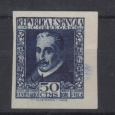 Sellos: 1935 III CENTENARIO DE LOPE DE VEGA EDIFIL 692S* MH VC 92,00€ LUJO!!. Lote 168999052