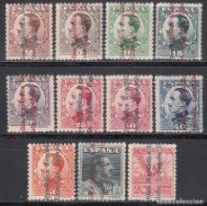 Sellos: ESPAÑA, 1931 EDIFIL Nº 593 / 603 /**/, SIN FIJASELLOS, . Lote 169733396