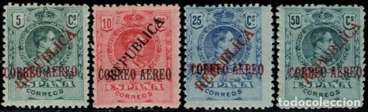 1931.ED:**/*29/32.EMISION LOCAL REPUBLICANA DE BARCELONA.SERIE COMPLETA. (Sellos - España - II República de 1.931 a 1.939 - Nuevos)