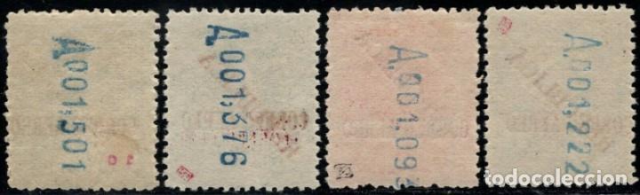 Sellos: 1931.Ed:**/*29/32.Emision Local Republicana de Barcelona.Serie completa. - Foto 2 - 169991896
