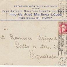 Sellos: MURCIA A YGUALADA. 1934. Lote 170543468