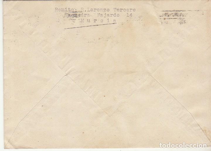 Sellos: MILITAR: MURCIA a VALENCIA. 1935. - Foto 2 - 170544124