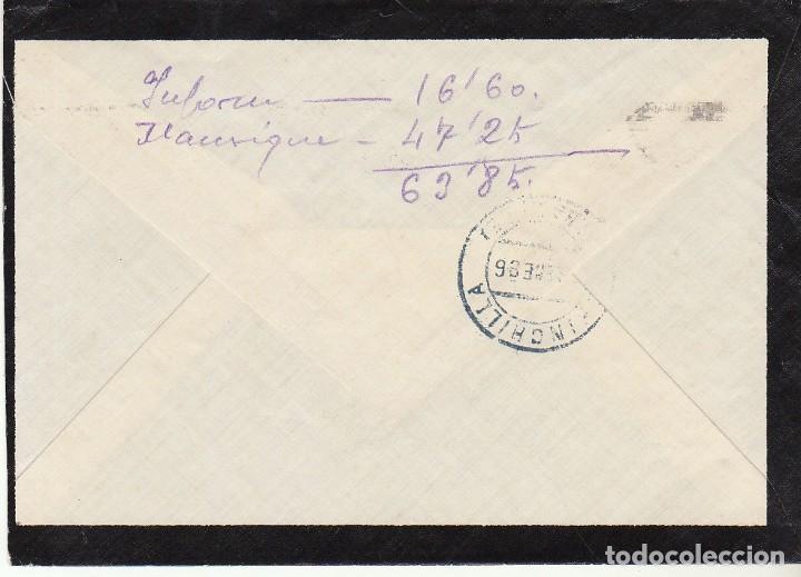Sellos: LUTO : CARTAGENA a CHINCHILLA. 1936. - Foto 2 - 170545532