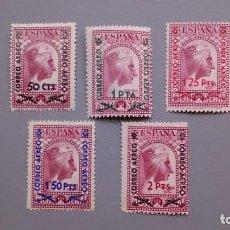 Sellos: ESPAÑA - 1938 - II REPUBLICA - EDIFIL 782/786 - SERIE COMPLETA - MH* - NUEVOS.. Lote 170939445