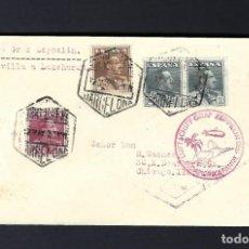 Sellos: MAYO 1931. CARTA VOLADA EN ZEPPELIN DE BARCELONA A CHICAGO. Lote 171094125