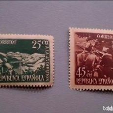 Sellos: ESPAÑA - 1928 - II REPUBLICA - EDIFIL 787/788 - SERIE COMPLETA - MNH** - NUEVOS - VALOR CAT. 78€.. Lote 171106880