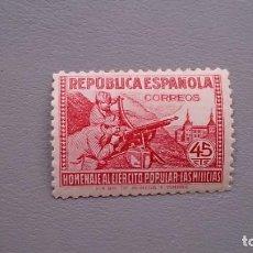 Sellos: ESPAÑA - 1938 - II REPUBLICA - EDIFIL 795 - MNH** - NUEVO - BIEN CENTRADO - LUJO.. Lote 171509240