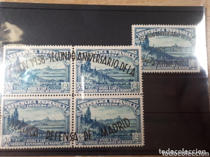 SELLOS DE ESPAÑA AÑO 1938 EDIF. 789/90 LOTN.844 (Sellos - España - II República de 1.931 a 1.939 - Nuevos)