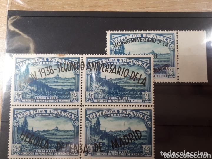 SELLOS DE ESPAÑA AÑO 1938 EDIF. 789 Y 790 LOT.N.848 (Sellos - España - II República de 1.931 a 1.939 - Nuevos)
