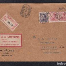 Sellos: 1931.- MADRID A OAKLAND (ESTADOS UNIDOS).. Lote 172618574