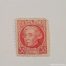 Sellos: SELLO 30 CENTIMOS REPUBLICA ESPAÑOLA. Lote 172785989
