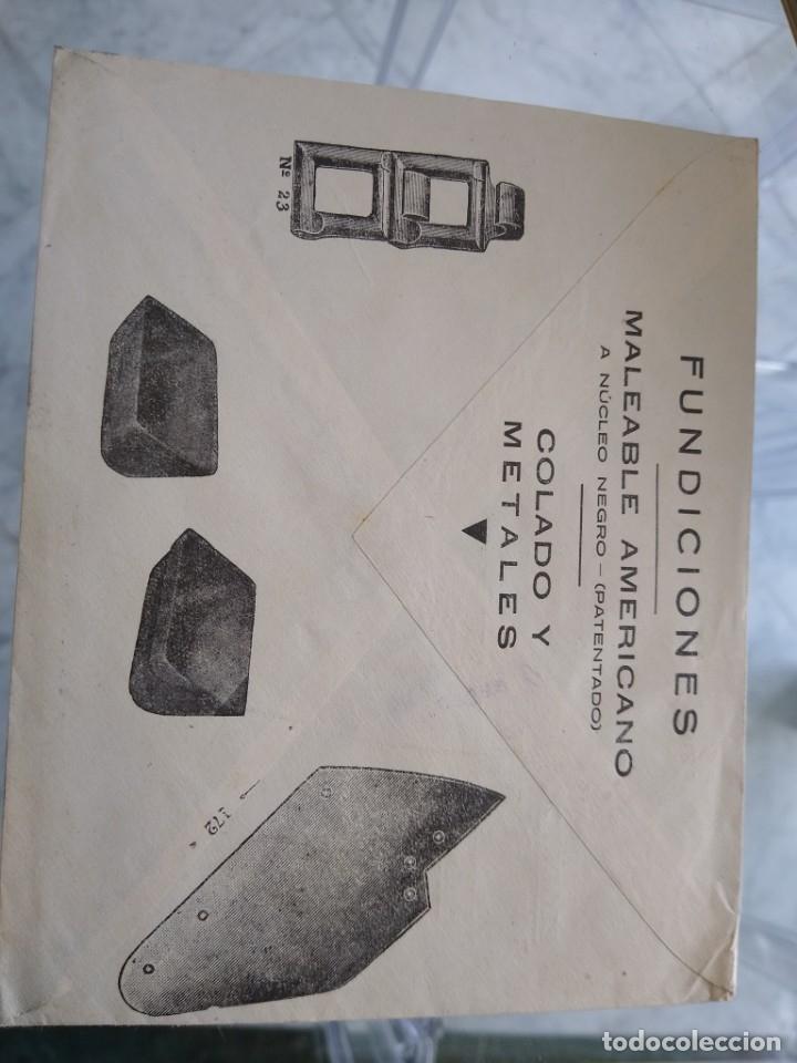 Sellos: Sobre Elorrio Julian de Ariño Vizcaya. Berio Otxoa Burdiñola - Foto 2 - 174077950