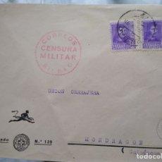 Sellos: SOBRE CON CENSURA MILITAR CORREOS BILBAO.. Lote 174080783