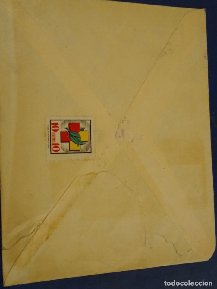 Sellos: Sobre Adolfo T. Simpson Bilbao. Censura militar Domingo 13 Bilbao. - Foto 2 - 174977938