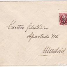 Sellos: F28-35- CARTA IBIZA - MADRID 1936?. MATASELLOS MUDO PUNTOS . Lote 175028185