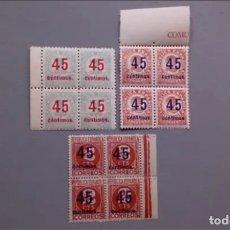 Sellos: V-1938 - II REPUBLICA - EDIFIL 742/744 - SERIE COMPLETA - MNH** - NUEVOS - LUJO - VALOR CAT. 225€.. Lote 175047909