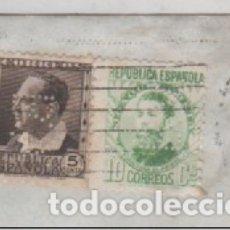 Sellos: BANCO VIZCAYA PERFORADO 2 SELLOS. SAN SEBASTIAN REPÚBLICA.. Lote 175064408