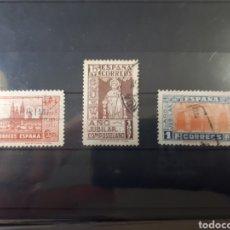Sellos: SELLOS USADOS DE ESPAÑA AÑO 1937 EDIF. 833/835 LOT.N.10024. Lote 175309664