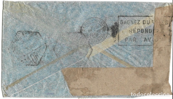 Sellos: 1937 -38 LOTE 4 SOBRES HISTORIA POSTAL GUERRA CIVIL REPUBLICA MADRID A SUIZA CORREO AÉREO CENSURAS - Foto 4 - 175353459